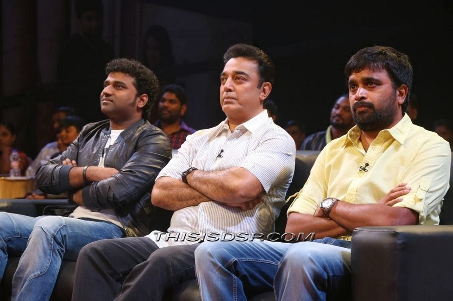 Devi Sri Prasad , Kamal Haasan , Sasi Kumar at Bramman Audio Launch