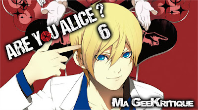 "[GeeKritique] Ma critique de Are You Alice"" Tome 6"