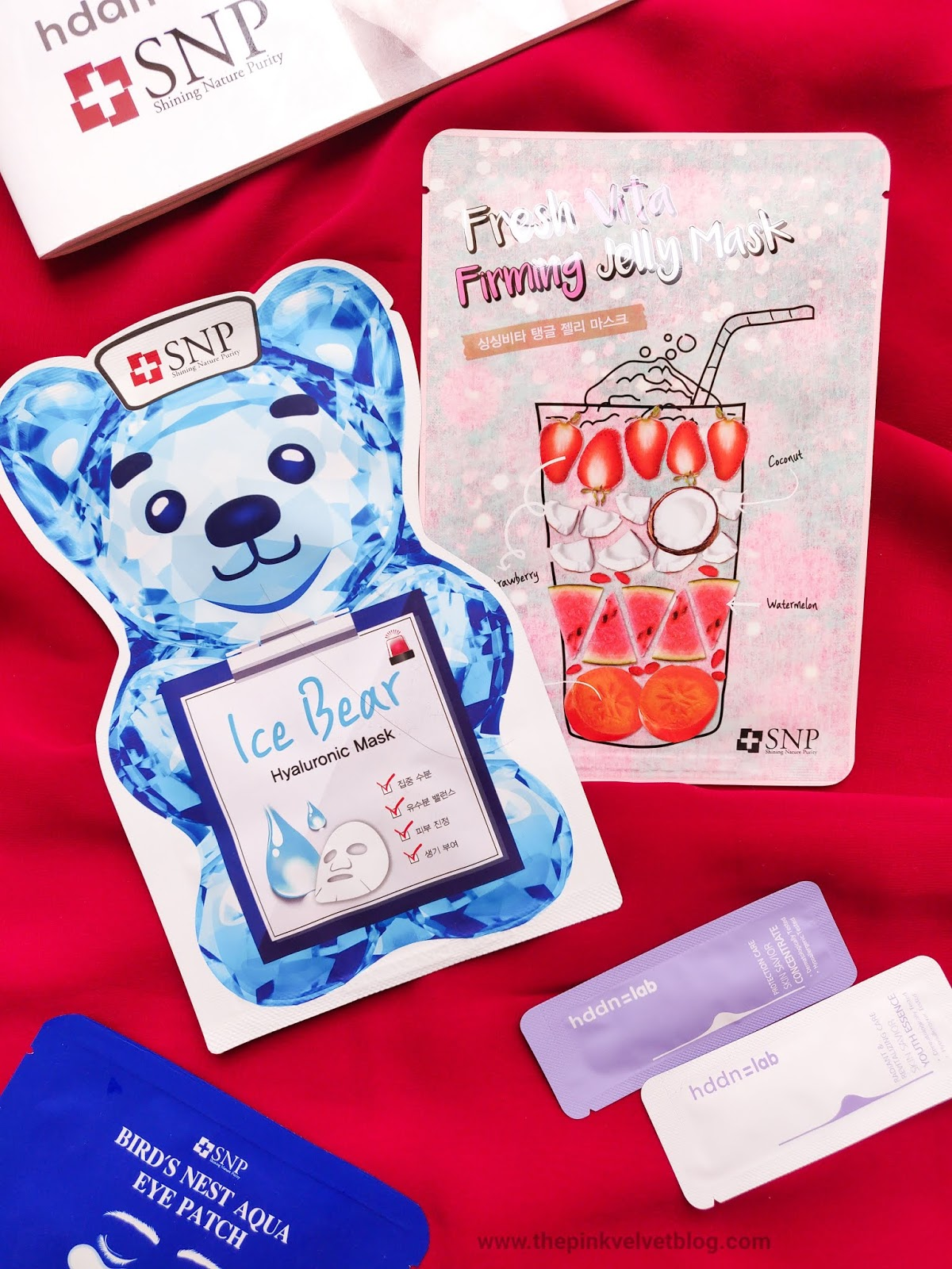 SNP Cosmetics (Korean Skincare Brand) Jelly Sheet Mask