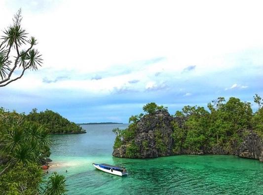 pulau senja wisata kendari