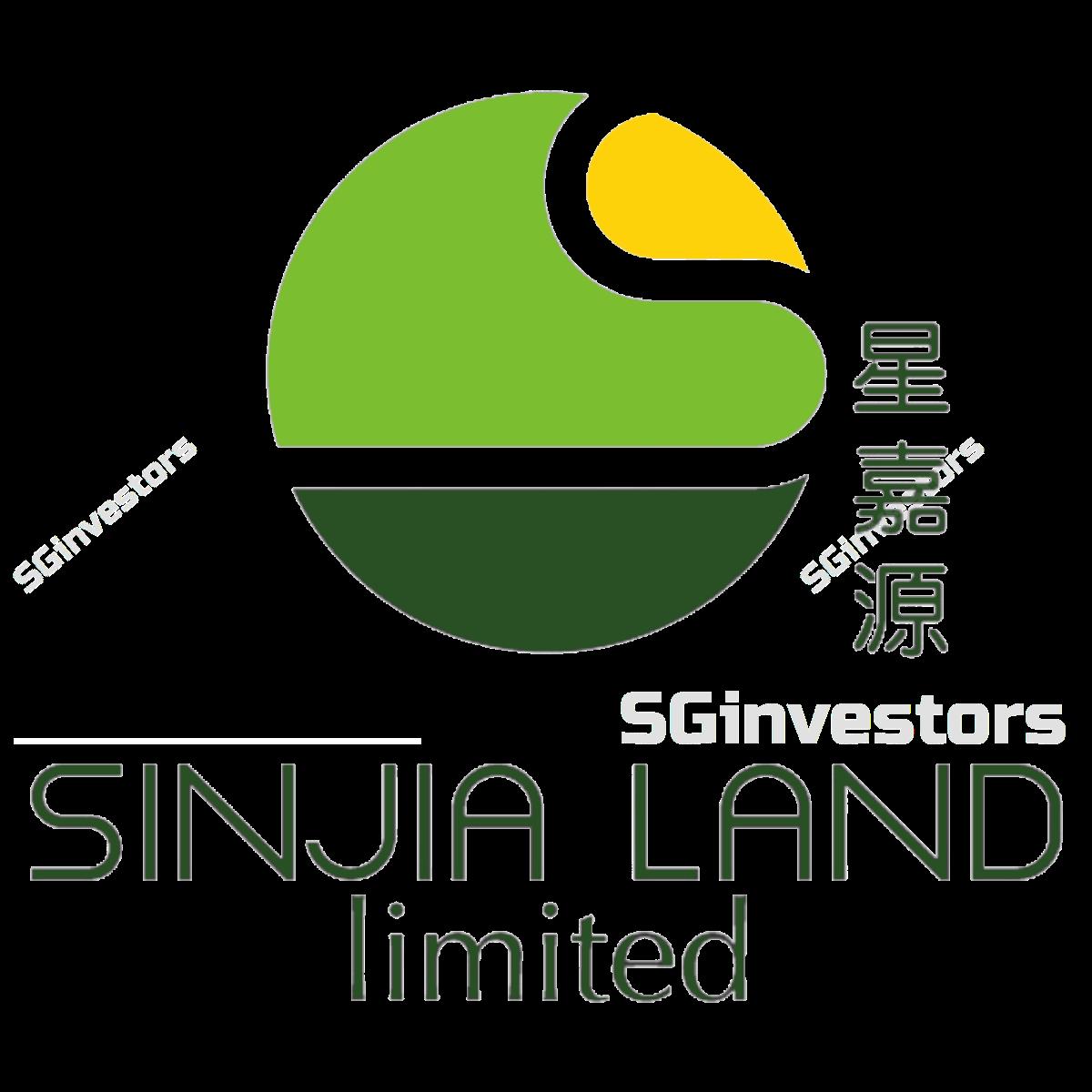 SINJIA LAND LIMITED (SGX:5HH) @ SGinvestors.io