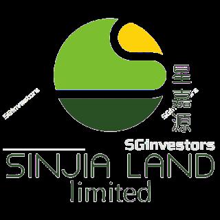 SINJIA LAND LIMITED (5HH.SI) @ SG investors.io