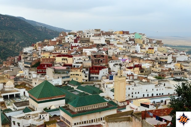 Moulay Idriss, vista panoramica