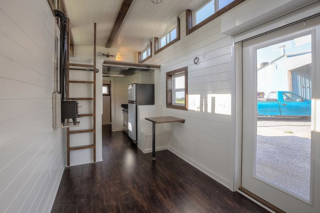 Tiny House Town Stunning Rustic Shipping Container Home