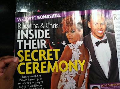 "CHRIS BROWN And Rihanna's ""Secret Wedding Rumours"" Not Affecting KARRUECHE 2"