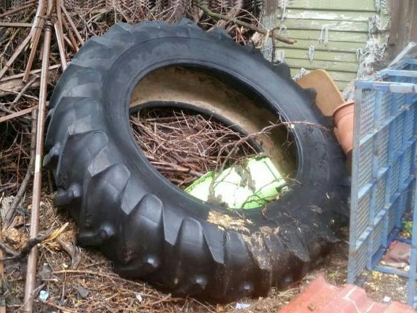 Giant Tractor Tire - $50