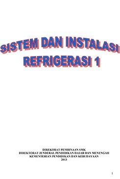 Download Buku Materi Sistem dan Instalasi Refrigerasi 1 Kelas X SMK Kurikulum 2013