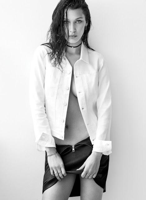 Bella Hadid - Flare Magazine