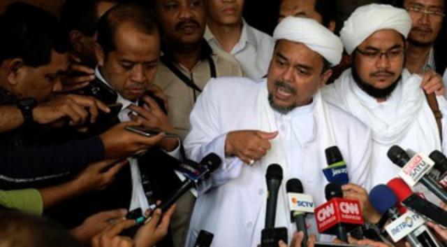 Habib Rizieq Shihab Tak Mau di Suap
