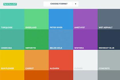 Kode Warna Pada HTML Dan CSS Lengkap Dengan lebih dari 100 Macam Kode Warna