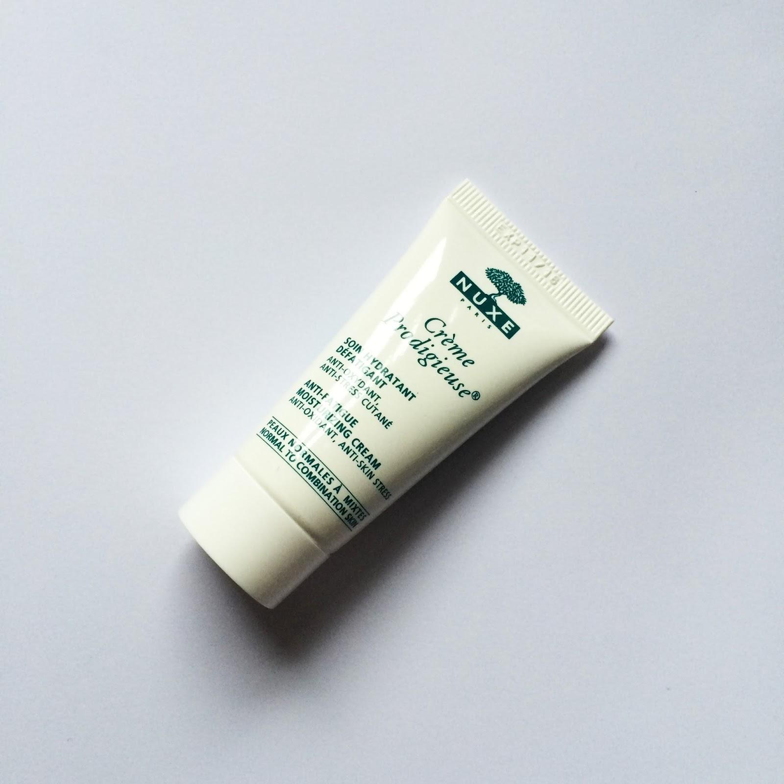 nuxe creme prodigieuse moisturising cream, fashion blogger, skincare