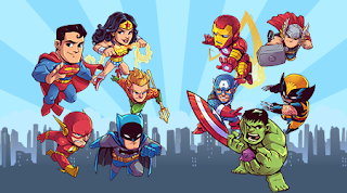 Marvel and DC - Cute