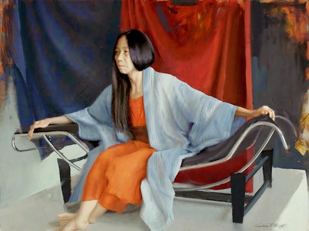 Beautiful Figurative Paintings by Andrea Kemp | 1981