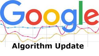 Google mengubah algoritma pencariannya sekitar  Riwayat Perubahan Algoritma Google FRED 2017