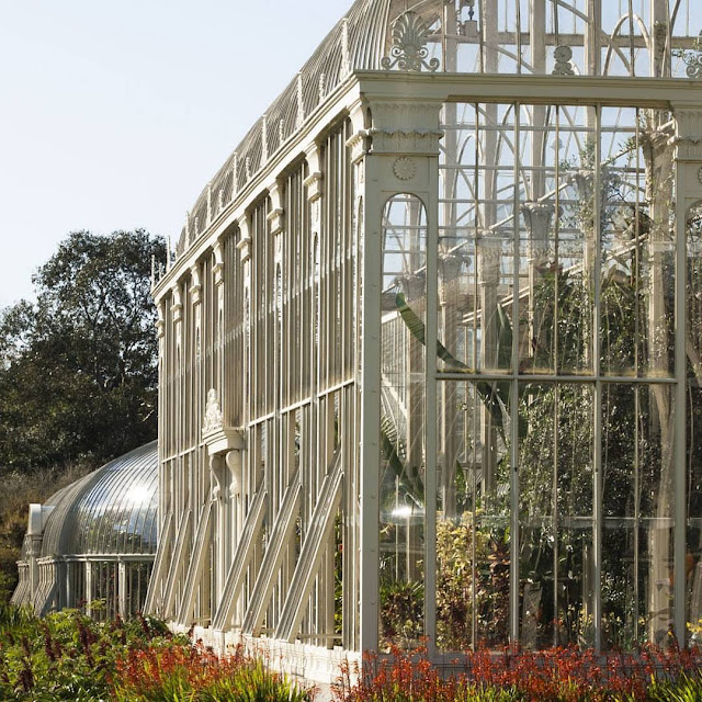 Victorian-era greenhouse at the National Botanic Gardens of Ireland