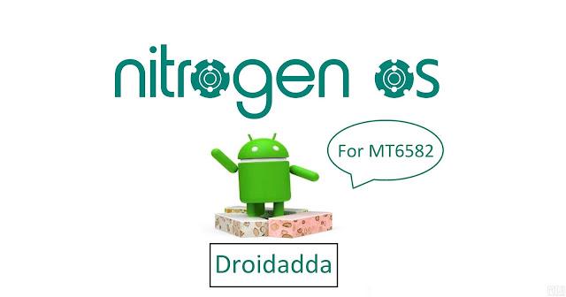Nitrogen os For MT6582