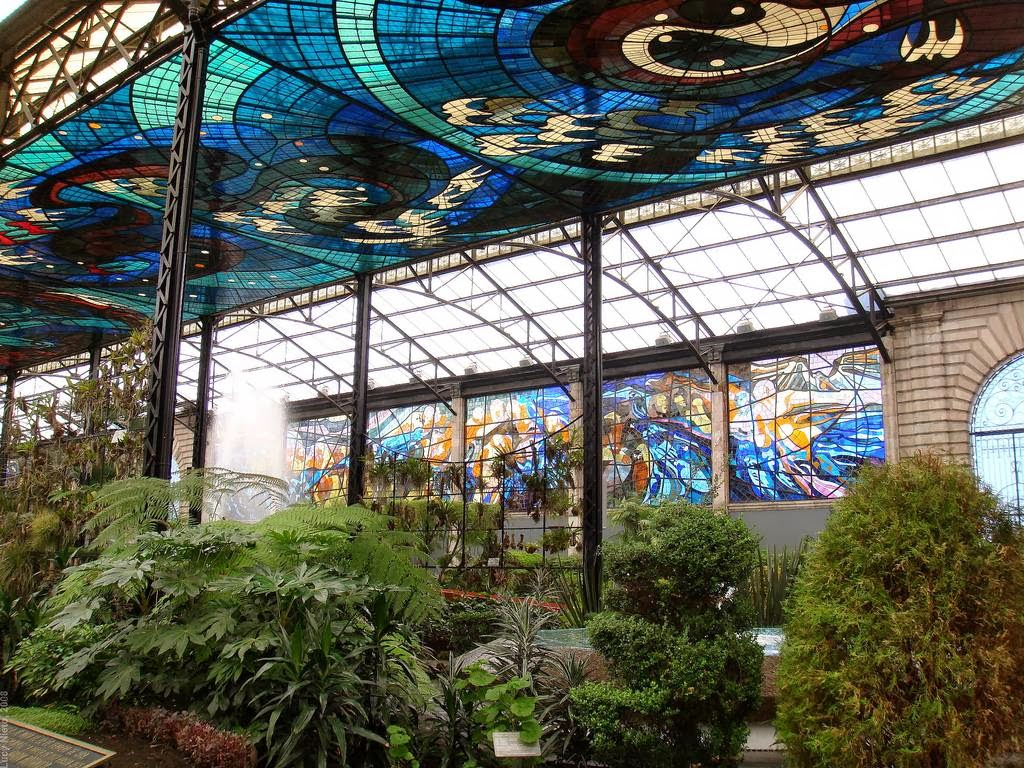 Cosmovitral Toluca Mexico Stained Gl Botanical Garden 12 Jpg