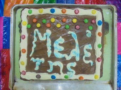 Η τούρτα του Μελέτη...