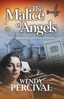http://www.wendypercival.co.uk/the-malice-of-angels/4594062550