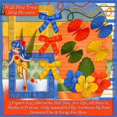 "W4E ""MAY FLOWERS"" Blog Train"