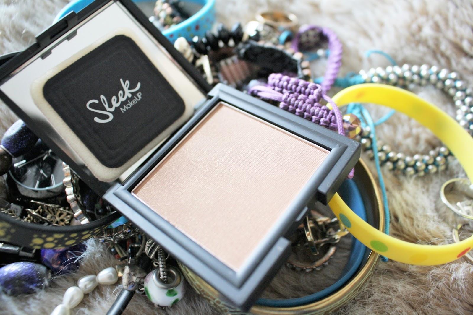 sleek make up pressed powder anika may everyday make up routine photography blog review
