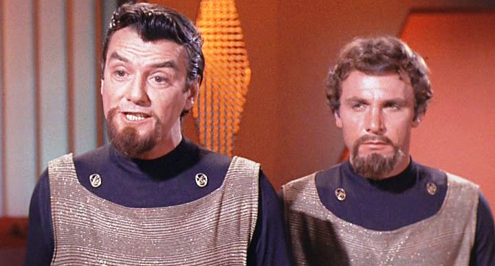 Os Klingons da série clássica de Star Trek
