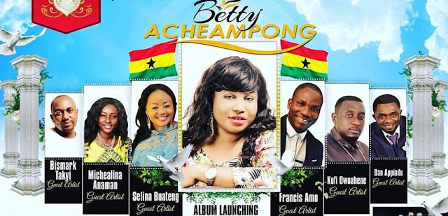 [VIDEO] Gospel Star Betty Acheampong expressed her gratitude...