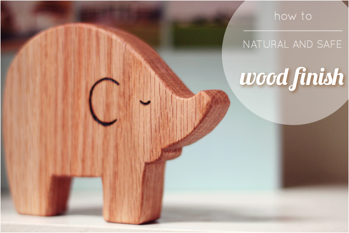 Beccamarie Designs Safe And Natural Wood Finish For Babies