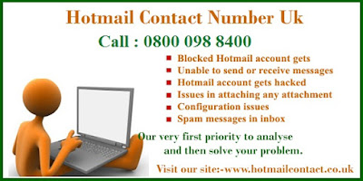 Hotmail contact number uk