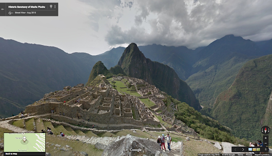Official Google Blog: Walk the ruins of Peru's most historic site: Machu Picchu