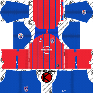 Johor Darul Takzim Nike ACL Kits 2019 -  Dream League Soccer Kits