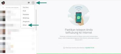 cara menggunakan whatsapp web di pc