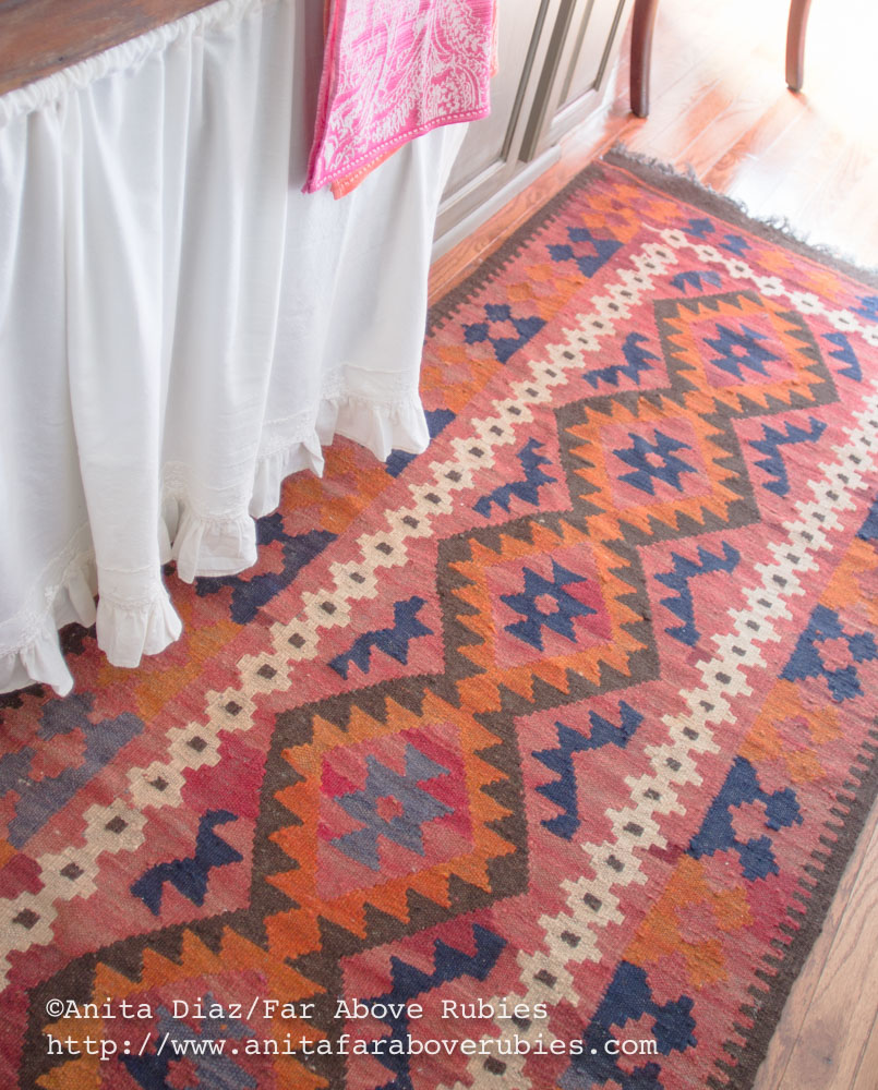 A New Kilim Rug For The Kitchen And Sources