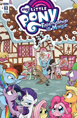 MLP: FiM #63 Cover A