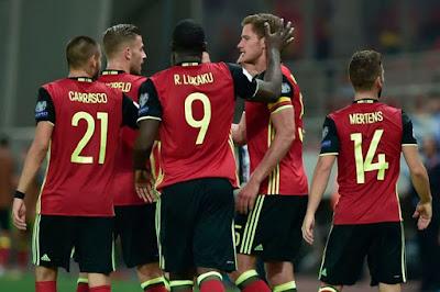Info dan Data Lengkap Timnas Belgia di Piala Dunia 2018
