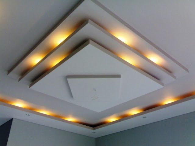desain plafon ruang tamu kecil