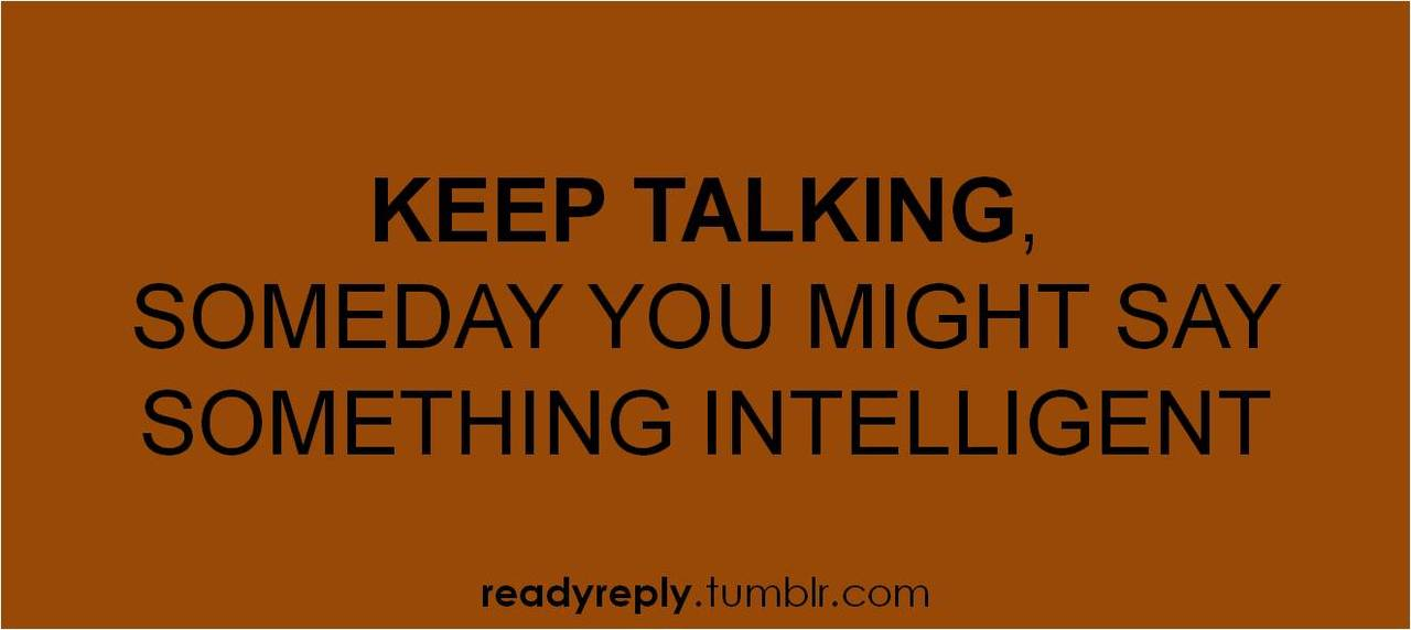 Funny intelligent insults