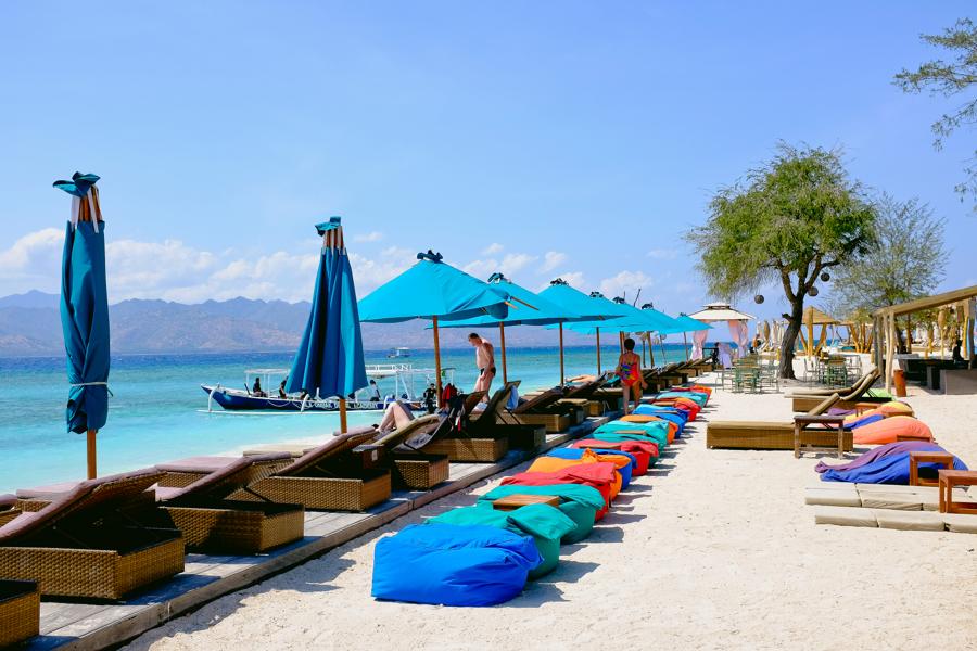 Berwisata ke Pantai Gili Trawangan di Lombok