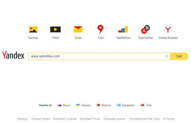 Mendaftarkan Blog ke Yandex Webmaster