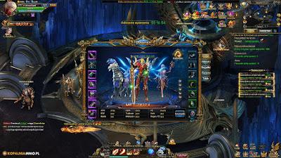 Zmierzch Bogów - Okno Postaci - Darmowe gry MMORPG