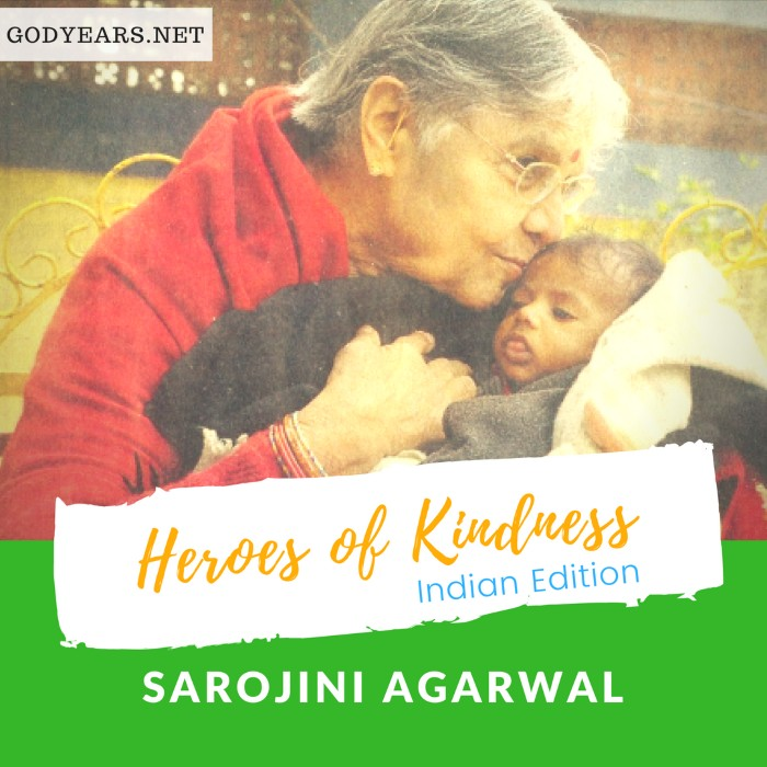 In over 30 years, Dr Sarojini Agarwal had raised over 800 abandoned girls.