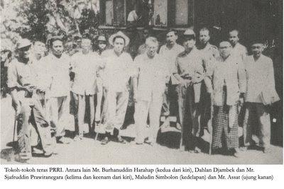 Perpecahan bangsa Indonesia oleh PRRI