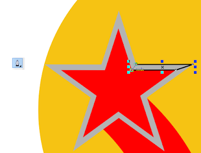 """vẽ logo """"Hàng Việt Nam chất lượng cao"""" bằng Coreldraw X6"""