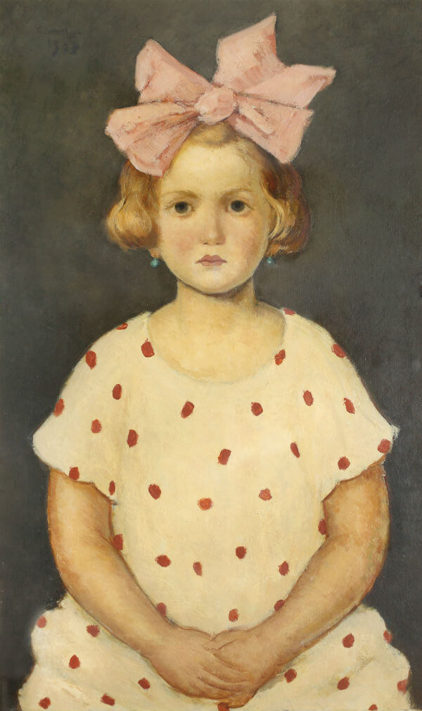 nicolae tonitza fetita cu funda roz psihanaliza psihoterapie