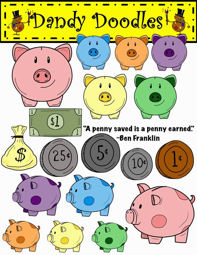 https://www.teacherspayteachers.com/Product/Piggy-Banks-and-Money-Clip-Art-by-Dandy-Doodles-1677159