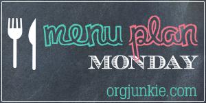 Menu Planning (I'm Back!): Week of Aug 6
