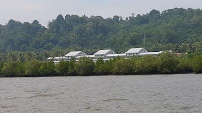 Batu prison's isolation cells on Nusakambangan island, Indonesia