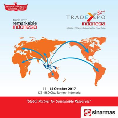 Kontribusi 79 Tahun Sinar Mas Dalam Trade Expo Indonesia 2017