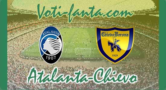 Atalanta Chievo, le formazioni ufficiali
