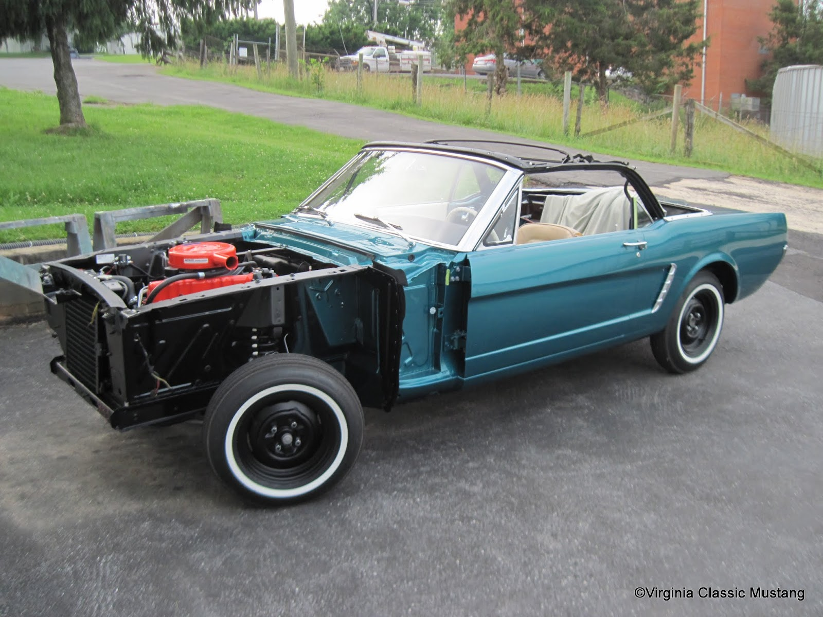 Virginia Clic Mustang Blog Just The Details 1965 Convertible Restoration